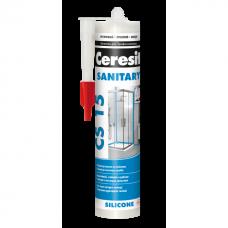 Герметик силиконовый санитарный Ceresit CS15 белый