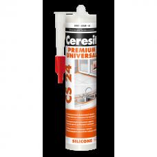 Герметик силиконовый Ceresit CS24 белый