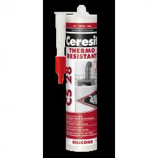 Герметик силиконовый термостойкий Ceresit CS28